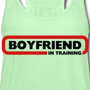 Boyfriend in Training - Women's Flowy Tank Top by Bella
