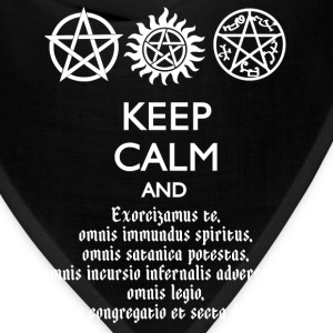 KEEP CALM AND SPEAK LATIN - Bandana