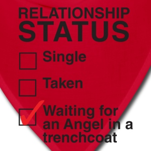 WAITING FOR AN ANGEL IN A TRENCHCOAT - Bandana