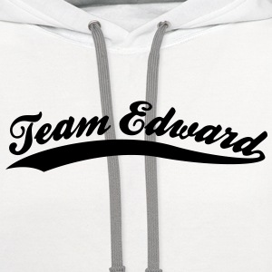 Team Edward (1c)++2012 T-Shirts - Contrast Hoodie