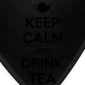 Keep Calm and Drink Tea Men's T-shirt - Bandana