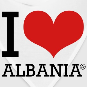 I LOVE ALBANIA Long Sleeve Shirts - Bandana
