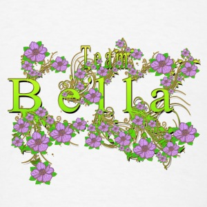 Team Bella Floral Lavender Flowers yellow Gold Accessories - Men's T-Shirt
