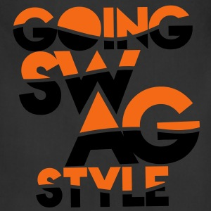 GOING SWAG STYLE two color Hoodies - Adjustable Apron