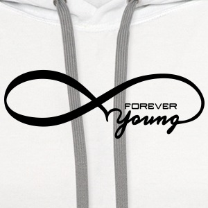 Forever Young Other - Contrast Hoodie