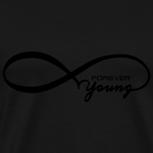 Forever Young Long Sleeve Shirts - Men's Premium T-Shirt