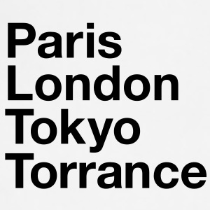 Paris London Tokyo Torrance Mugs & Drinkware - Adjustable Apron