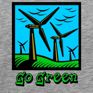 Go Green - Men's Premium T-Shirt