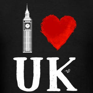 I Heart UK (remix) - Men's T-Shirt