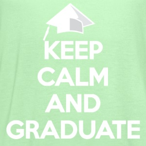 Keep Calm and Graduate - Women's Flowy Tank Top by Bella