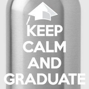Keep Calm and Graduate - Water Bottle