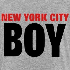 NEW YORK CITY BOY Sweatshirts - Toddler Premium T-Shirt