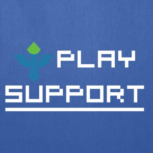 I Play Support T-Shirts - Tote Bag