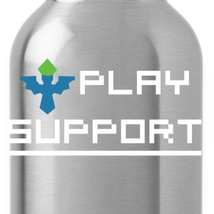 I Play Support Hoodies - Water Bottle