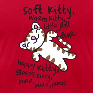 Big Bang Soft Kitty Warm Kitty Hoodies - Men's T-Shirt by American Apparel