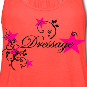 Dressage Floral Tribal Stars Women's T-Shirts - Women's Flowy Tank Top by Bella