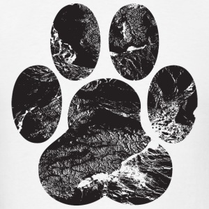 Paw Print Hoodies - Men's T-Shirt