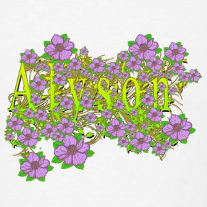 Alyson Floral Lavender Flowers yellow Gold Other - Men's T-Shirt