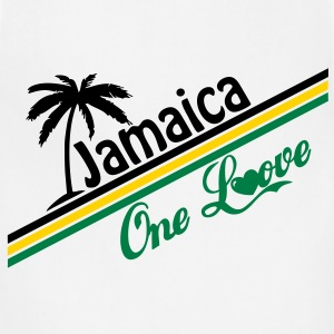 jamaica one love T-Shirts - Adjustable Apron