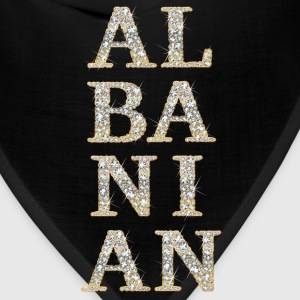 ALBANIAN (diamonds effect) T-Shirts - Bandana