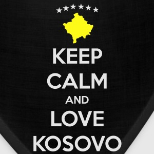 KEEP CALM AND LOVE KOSOVO T-Shirts - Bandana