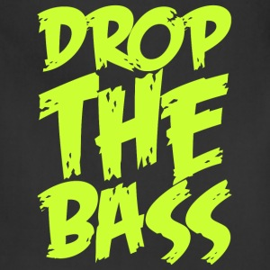 Drop The Bass (neon) T-Shirts - Adjustable Apron