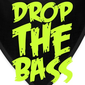 Drop The Bass (neon) T-Shirts - Bandana