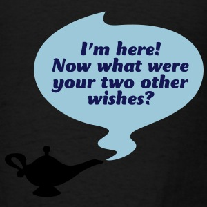 Your Two Other Wishes 1 (3c)++2012 Bags  - Men's T-Shirt