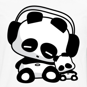 Sleeping Pandas T-Shirts - Men's Premium Long Sleeve T-Shirt