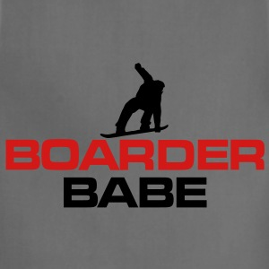 Boarder Babe Snowboard T-Shirt - Adjustable Apron