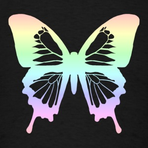 Butterfly - Pastel Rainbow Sweatshirts - Men's T-Shirt