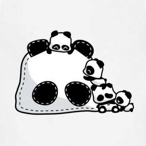Baby Pandas Hoodies - Adjustable Apron