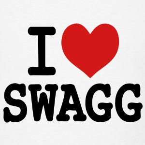 I love Swagg - Men's T-Shirt