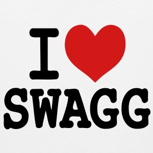 I love swagg original Hoodies - Men's Premium Tank