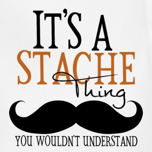 A Stache Thing Hoodies - Adjustable Apron