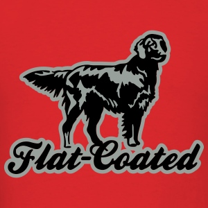 flat_coated Hoodies - Men's T-Shirt