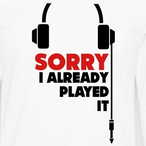 sorry_i_already_played_it_3 T-Shirts - Men's Premium Long Sleeve T-Shirt