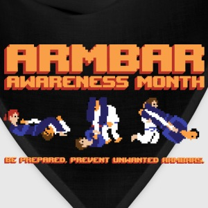 Armbar Awareness Month retro BJJ t-shirt - Bandana