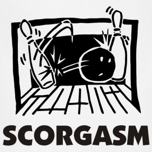 Bowling Scorgasm T-Shirt - Adjustable Apron