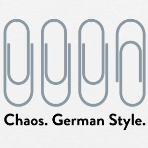 Chaos German Style (2c)++2012 T-Shirts - Men's Premium Tank