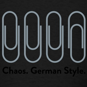 Chaos German Style (2c)++2012 Bags  - Men's T-Shirt