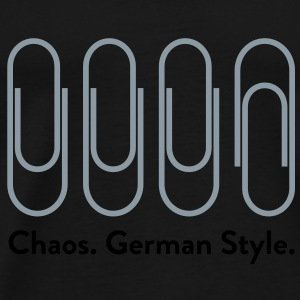 Chaos German Style (2c)++2012 Bags  - Men's Premium T-Shirt