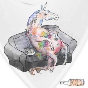 drunk unicorn T-Shirts - Bandana