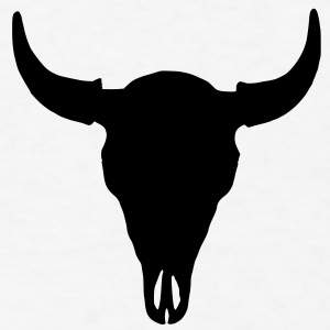 buffalo skull iphone 5 case - Men's T-Shirt