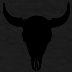 buffalo skull baseball cap - Men's T-Shirt