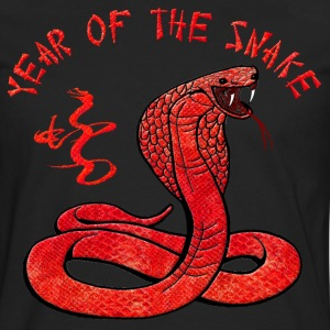 Year Of The Snake Hoodies - Men's Premium Long Sleeve T-Shirt