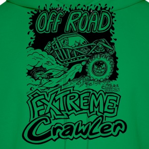 Off road Extreme rock crawler - Men's Hoodie