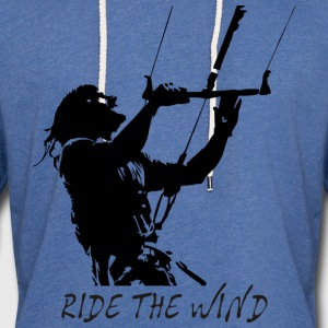 Ride the wind T-Shirts - Unisex Lightweight Terry Hoodie
