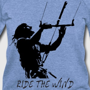 Ride the wind T-Shirts - Women's Wideneck Sweatshirt