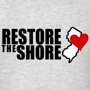RESTORE THE SHORE Hoodies - Men's T-Shirt